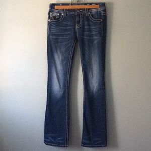 Miss Me Size 27 easy boot jeans a/5